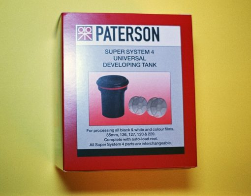 Paterson Super System 4 Universal Tank with Two Reels