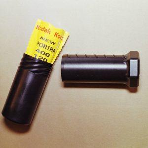 120 Film Holder (Black, Single Roll)