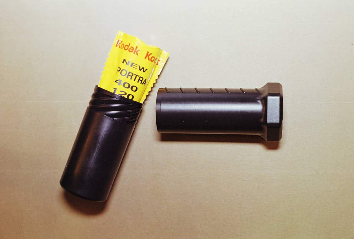 120 Film Holder (Black, Single Roll)