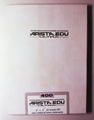 "Arista EDU Ultra 400 Black and White Sheet Film (4 x 5"", 25 Sheets)"