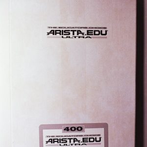 "Arista EDU Ultra 400 Black and White Sheet Film (4 x 5"", 25 Sheets)"