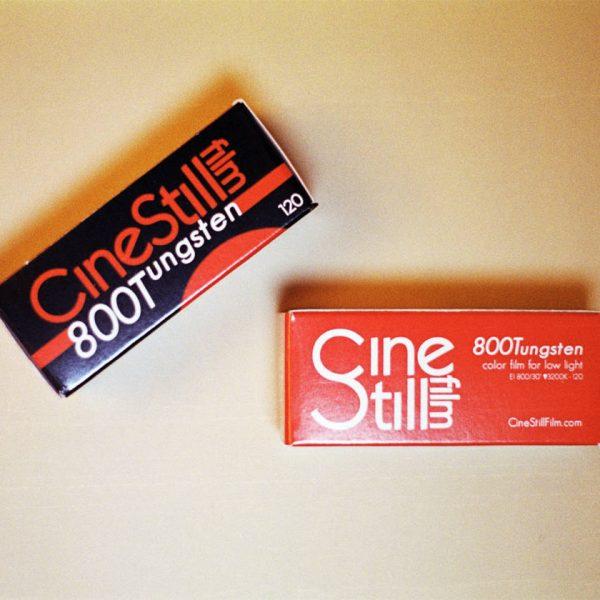 Cinestill 800T C-41 Color Negative Film (120 Roll Film)