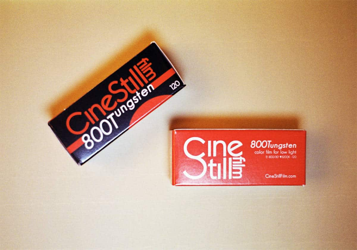Cinestill 800T C-41 Color Negative Film (120 Roll Film)