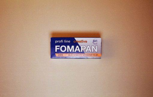 Foma Fomapan 200 Black and White Film (120 Roll Film)