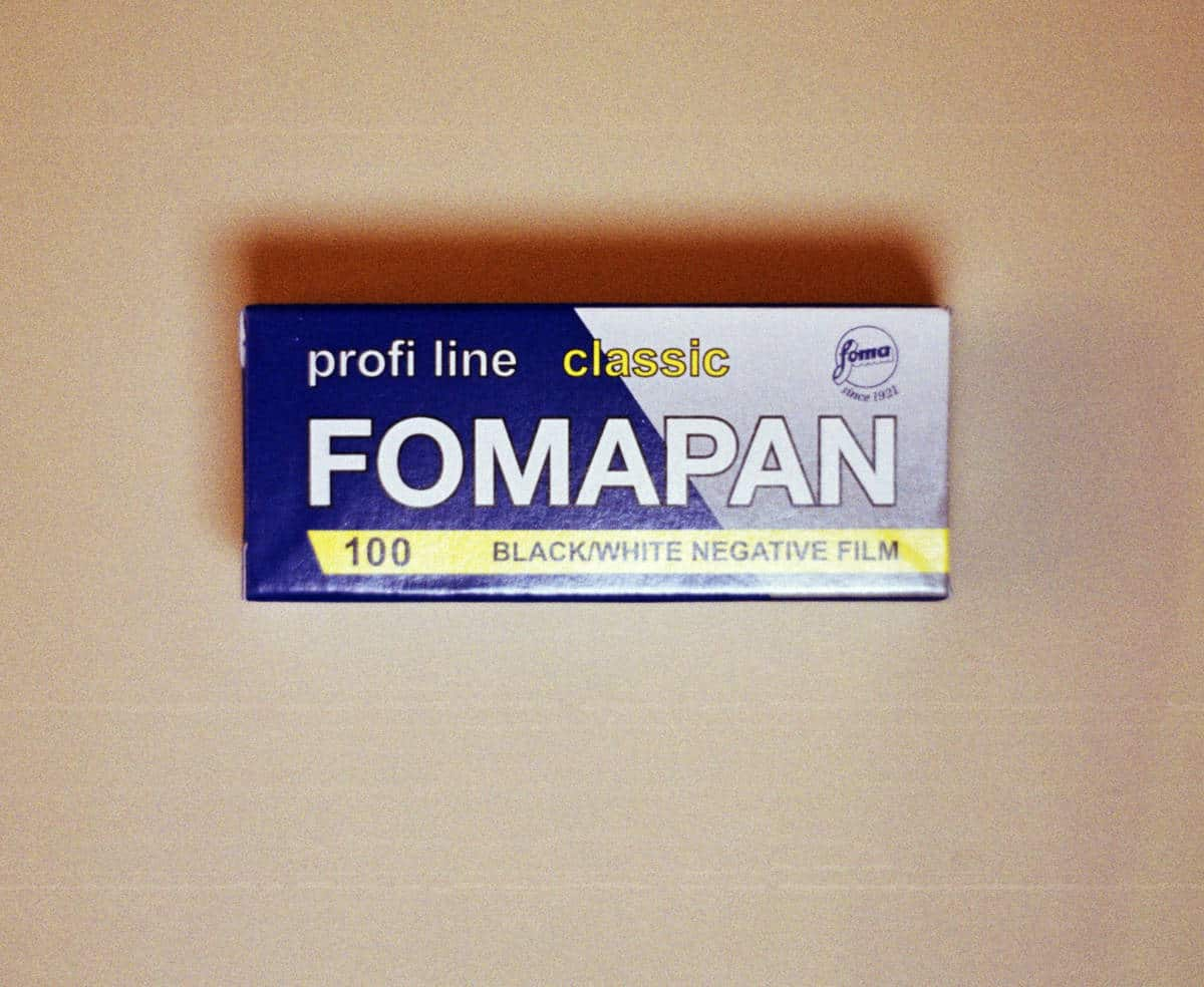 Foma Fomapan 100 Black and White Film (120 Roll Film)