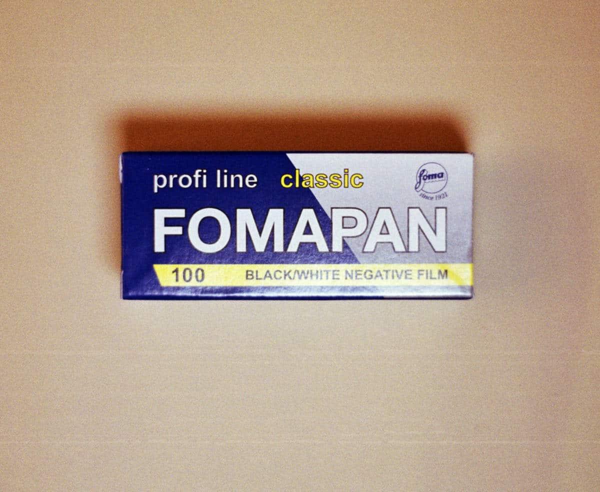 Foma Fomapan 100 Black and White Film (120 Roll Film)