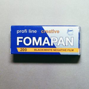 Foma Fomapan 200 Black and White Film (120 Roll Film)