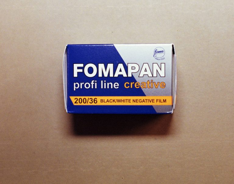 Foma Fomapan 200 Black and White Film (35mm Roll Film, 36 Exposures)