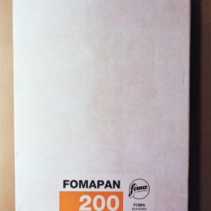 "Foma Fomapan 200 Black and White Sheet Film (4 x 5"", 50 Sheets)"