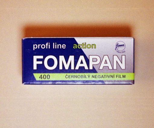 Foma Fomapan 400 Black and White Film (120 Roll Film)