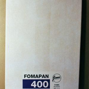 "Foma Fomapan 400 Black and White Sheet Film (4 x 5"", 50 Sheets)"