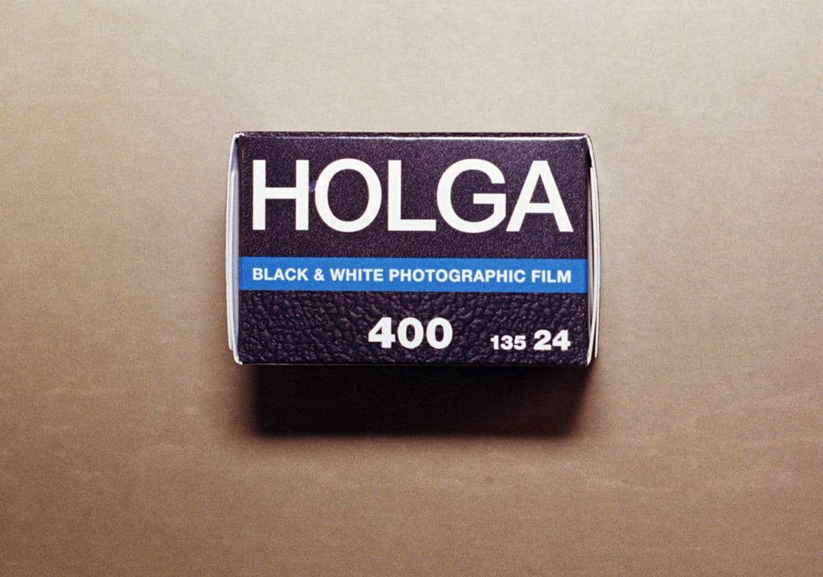 Holga 400 Black & White Film (35mm Roll Film, 36 Exposures)
