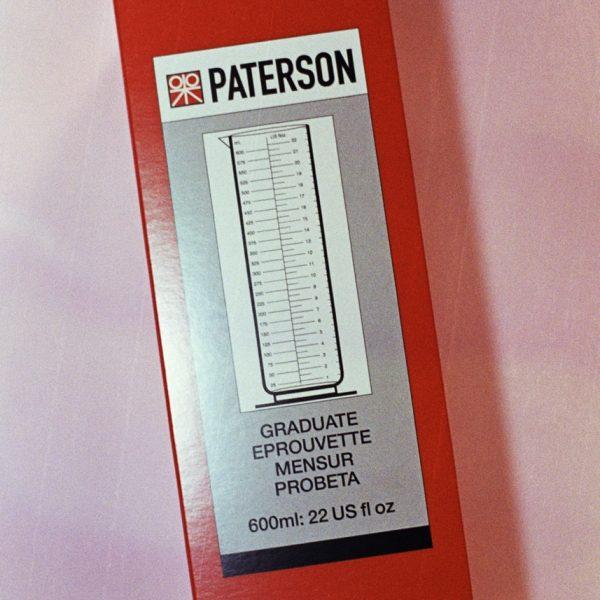 Paterson Plastic Graduate (600ml, 22 oz.)