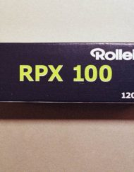 Rollei RPX 100 Black and White Negative Film (120 Roll Film)